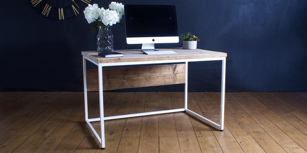 Oldman Industrial Reclaimed Wood Desk