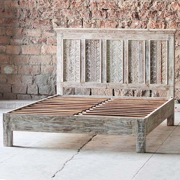 Whiteleaf Reclaimed Wood Bed frame