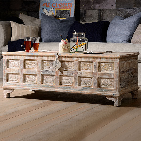 Whiteleaf Reclaimed Wood Coffee Table