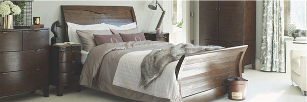Winchester Reclaimed Wood Bed in Bedroom