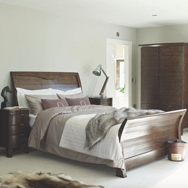 Winchester Reclaimed Wood Rustic Bed