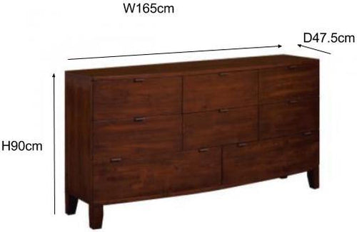 Winchester Large Chest of Drawers Measurements