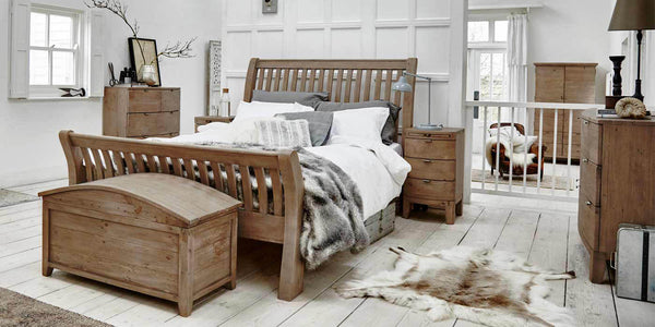 Winchester Rustic Wooden Bedroom Furniture