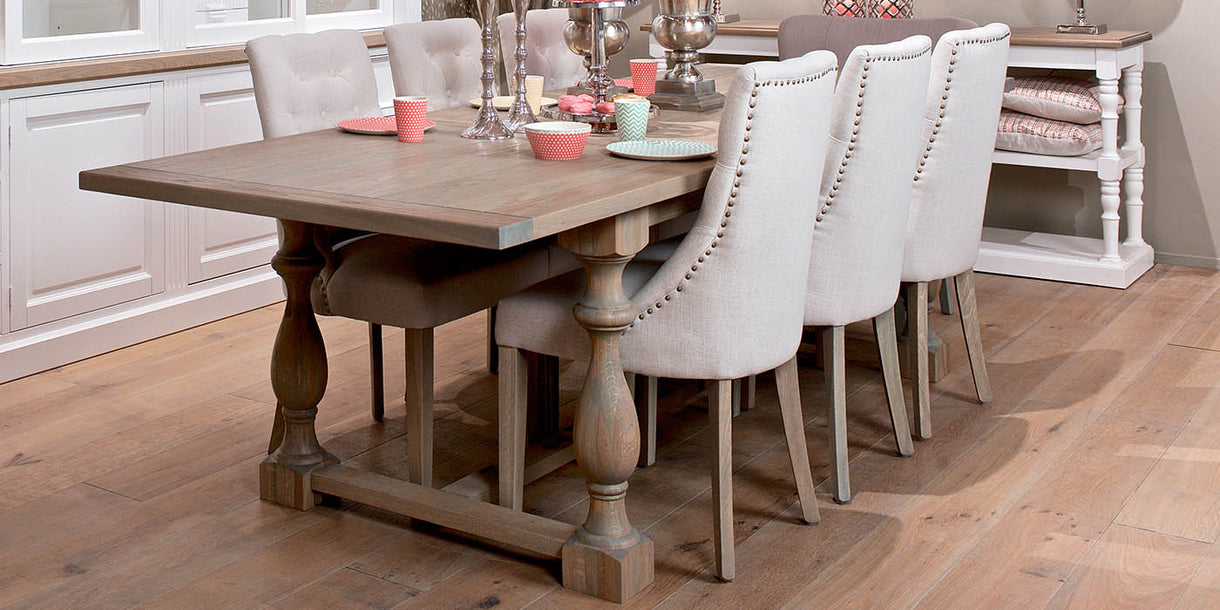 Luxe Sandy Upholstered Dining Chairs - Modish Living