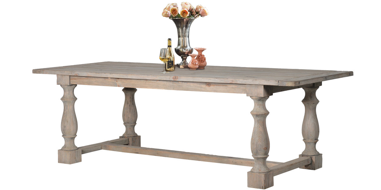 Windsor Reclaimed Wood Refectory Dining Table