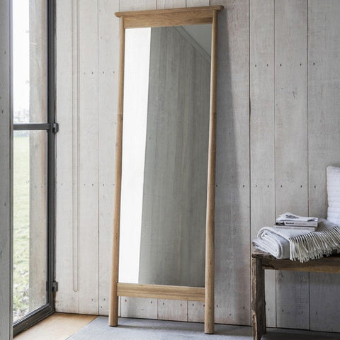 Hudson Living Wycombe Leaner Free Standing Mirror for Bedroom