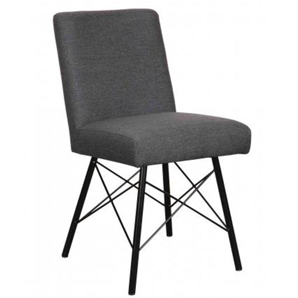Barton Grey Fabric Dining Chair