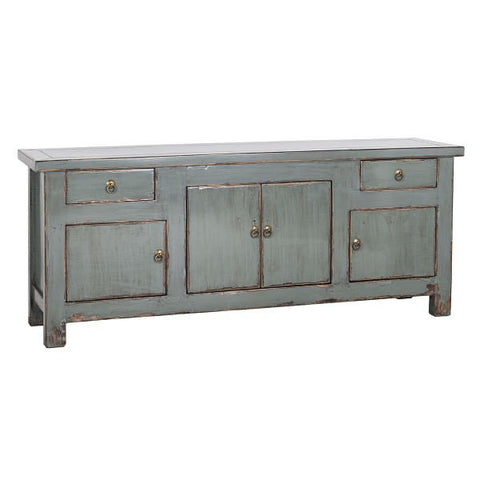 Anne Boleyn Grey TV Cabinet