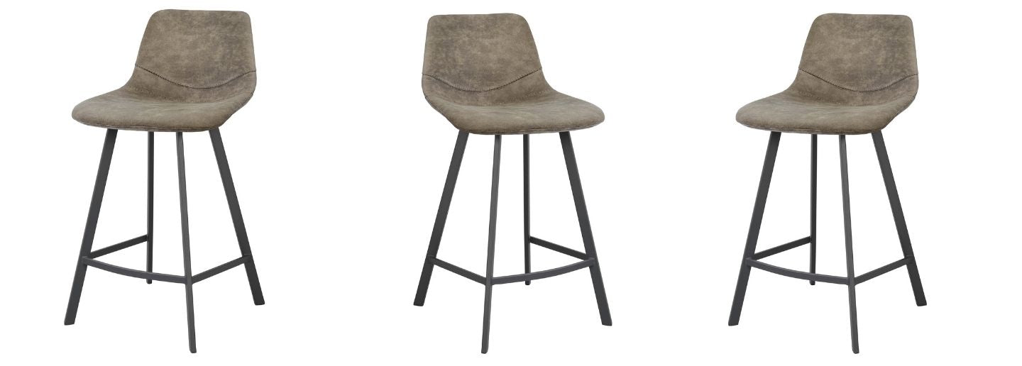 faux leather bars stools