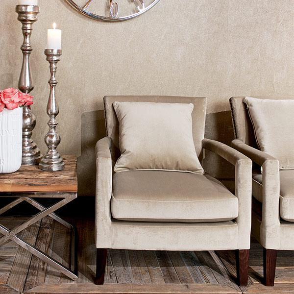 Candice Fabric Armchair