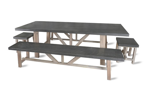 DIMENSIONS FOR YOUR CHILSON DINING SET  sc 1 st  Modish Living & Wood \u0026 Concrete Table   Contemporary Dining Table   Modish Living