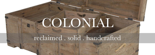 Colonial Reclaimed Wood Furniture Collection