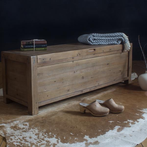 Cotswold Reclaimed Wood Blanket Box