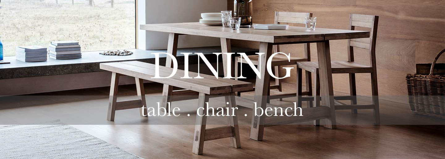 oak dining set with dining table dining chairs and dining bench