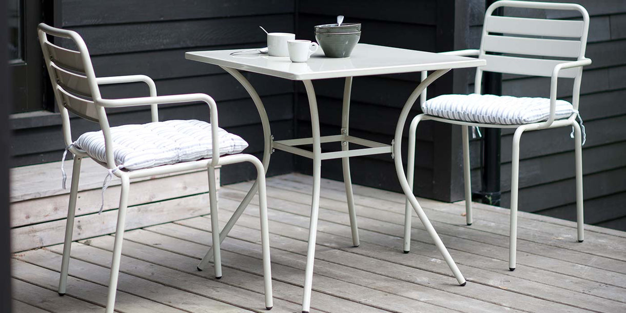 Dean Street Garden Dining Set with Chairs