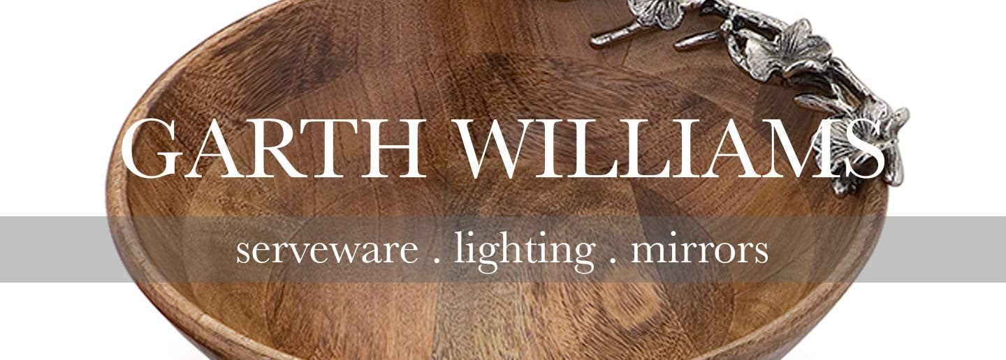garth williams collection of lighting serveware and home accessories