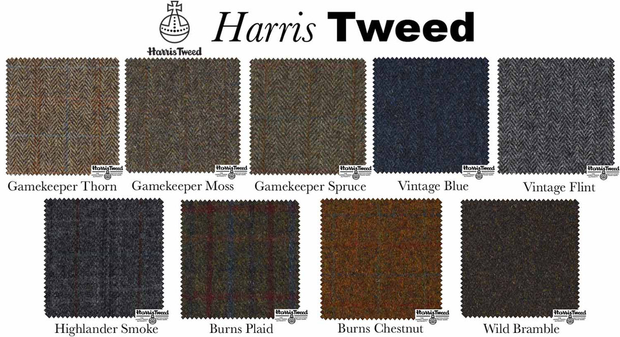 Harris Tweed Wool Swatches- Modish Living