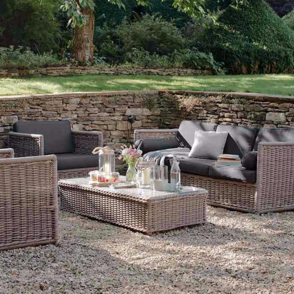 Harting Rattan Garden Sofa Set