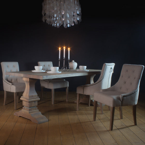 Hoxton Oak Dining Table and Chairs