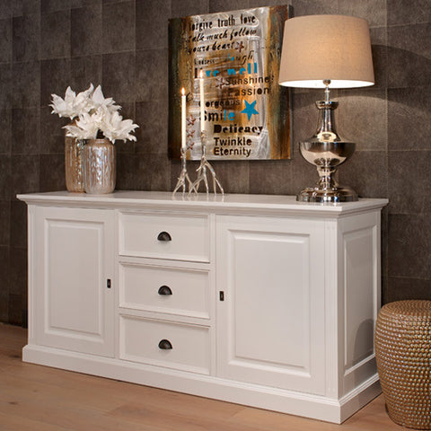 Windsor Large White Sideboard