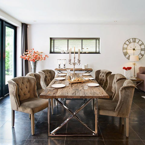 Kensington Luxe Reclaimed Wood Dining Table