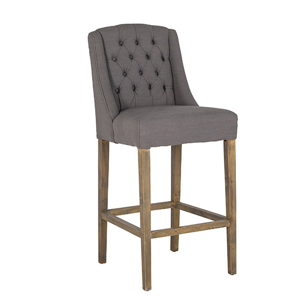 Luxe Day Fabric Barstool