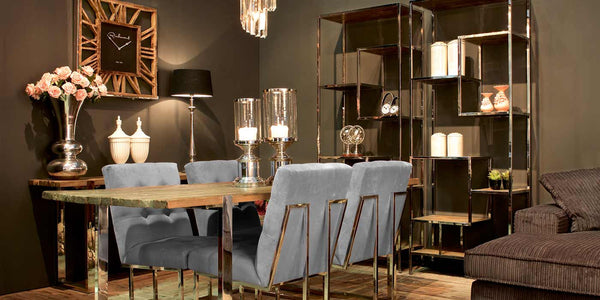 Maddox Reclaimed wood collection for dining room
