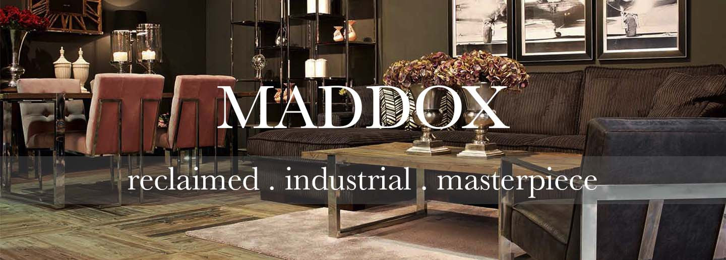 Maddox reclaimed wood collection of dining tables and living room furniture