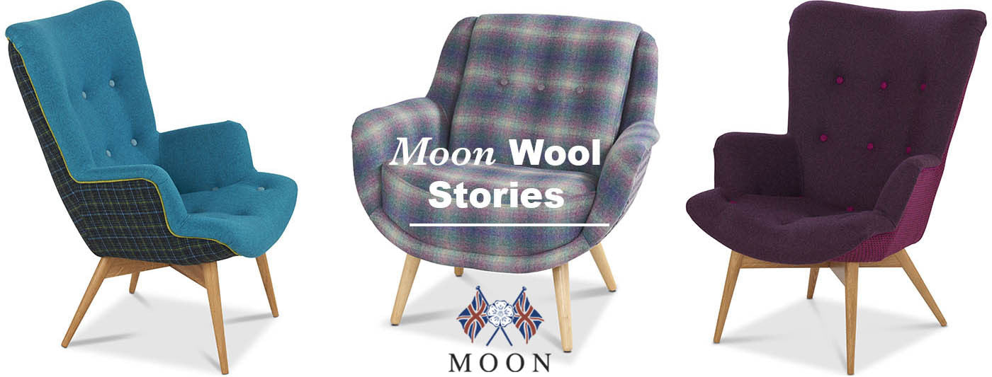 Moon Wool armchairs_ behind the scenes - Modish Living