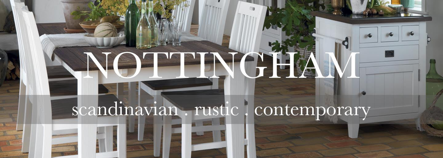 Nottingham collection of white painted furniture