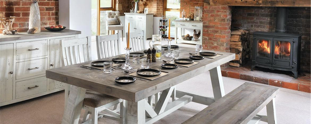 Purbeck Reclaimed Wood Dining set