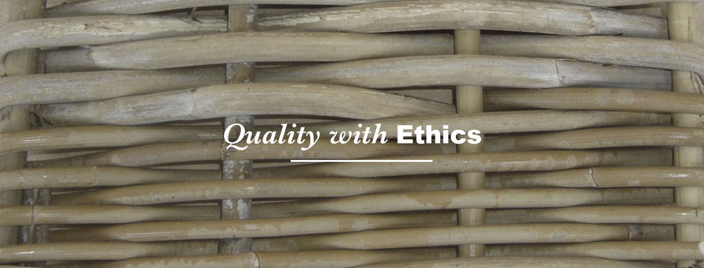 Making of rattan furniture -quality with ethics