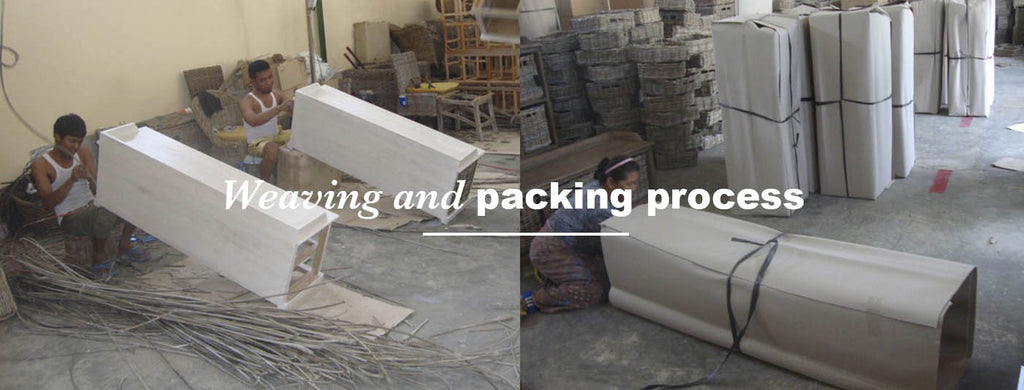 weaving and packing process