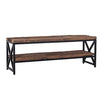 Luxe Kensington Reclaimed Wood Industrial TV Unit - Modish Living