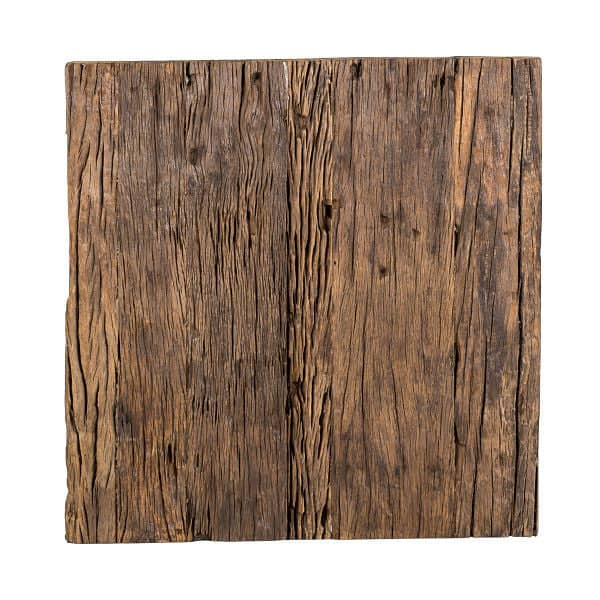 Luxe Kensington Reclaimed Wood Side Table Top