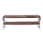 Luxe Kensington Reclaimed Wood TV Unit front - Modish Living