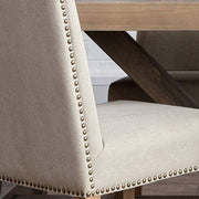Fabric detail of Ambrose Upholstered Dining Chair
