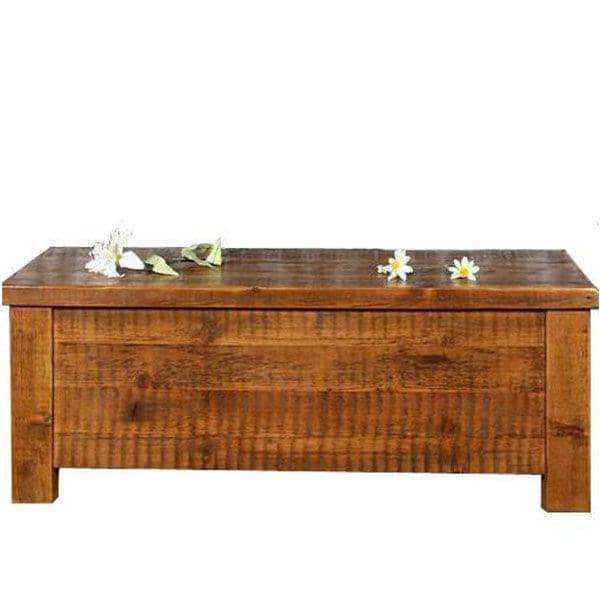 Beam Reclaimed Wood Blanket Box Medium
