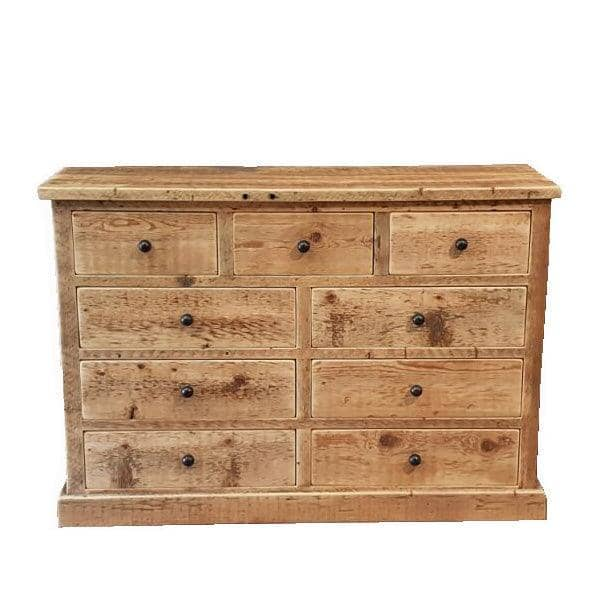 Beam Reclaimed Wood Chest Of Drawers Cutout