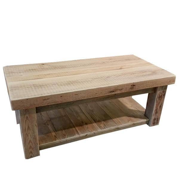 Beam Reclaimed Wood Coffee Table Natural