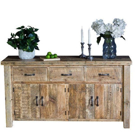 Beam Large Reclaimed Wood Sideboard Cutout
