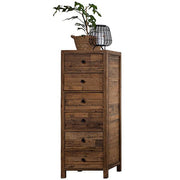 Standford Reclaimed Wood Tall Chest of Drawers Cutout