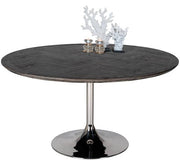 Blackbone Industrial Oak Round Dining Table