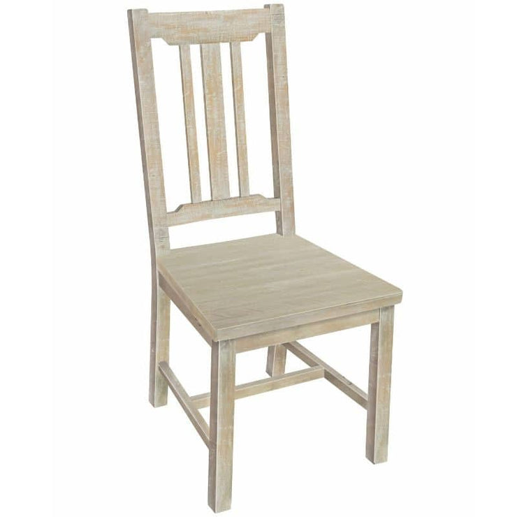 Boston Reclaimed Wood Dining Chair (pair)