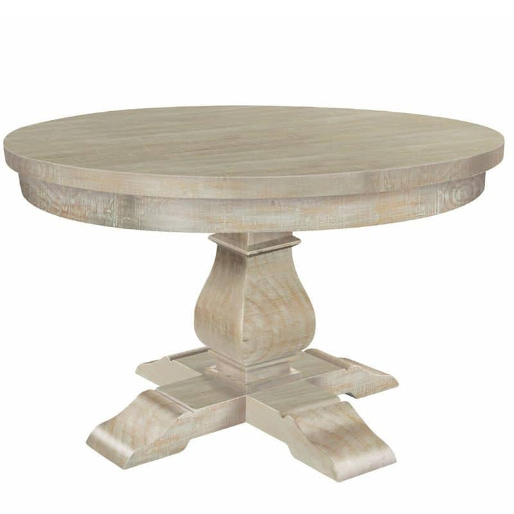 Boston Reclaimed Wood Round Dining Table