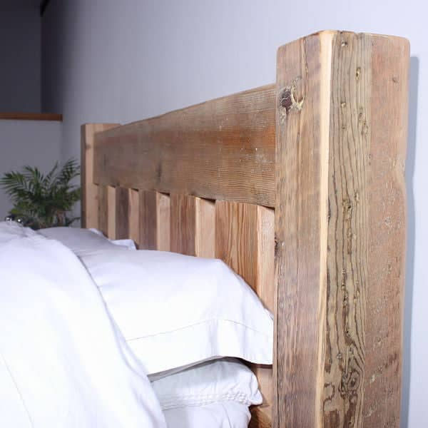 British Beam Surrey Reclaimed Wood Bed Headboard