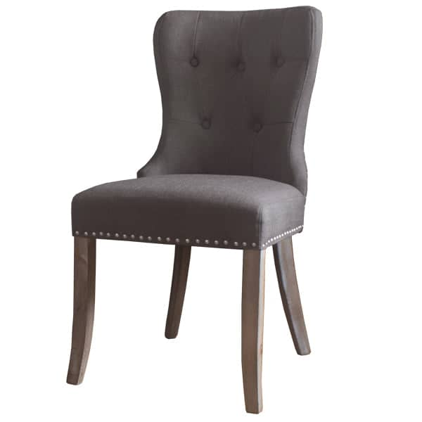 Brook Grey Upholstered Dining Chair