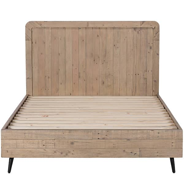 Chelwood wooden bed made from reclaimed wood