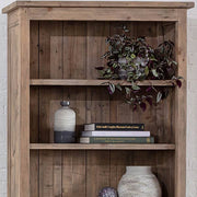 Detail of Chelwood Reclaimed Wood Bookcase