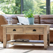 Chelwood Reclaimed Wood Coffee Table